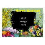 Easter photo frame greeting cards