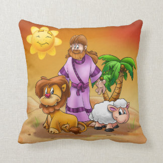 Easter pillow cartoon with Jesus