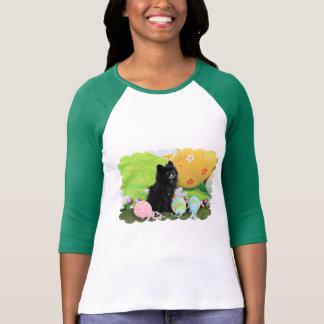 Easter - Pomeranian - Bear T-Shirt