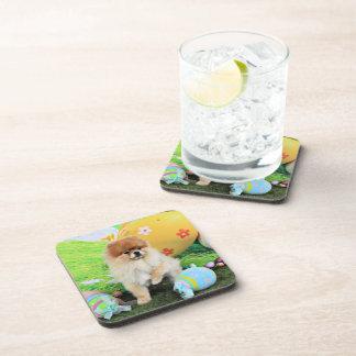 Easter - Pomeranian - Dexter Coasters
