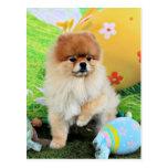 Easter - Pomeranian - Dexter Postcard