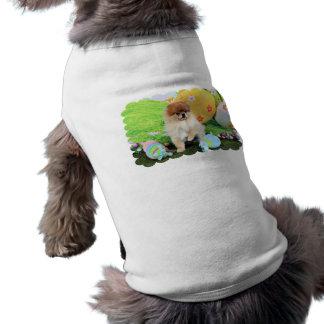 Easter - Pomeranian - Dexter Sleeveless Dog Shirt