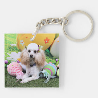 Easter - Poodle - Dolly Key Ring