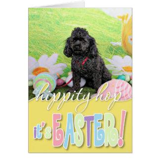 Easter - Poodle - Junior Card