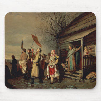Easter Procession, 1861 Mouse Mat