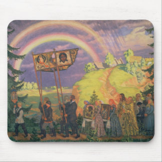 Easter Procession 1915 Mouse Pads