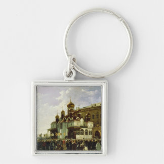 Easter procession at Maria Annunciation Key Ring