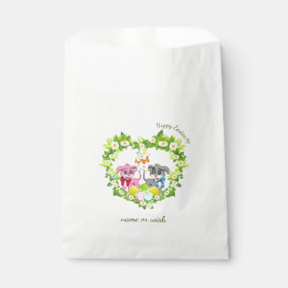 Easter Puppies Favour Bags