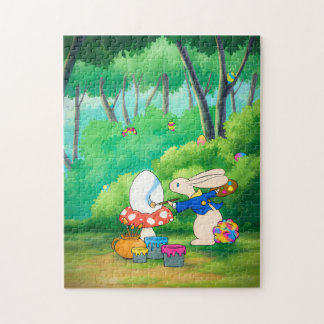Easter puzzling Bunny Puzzles