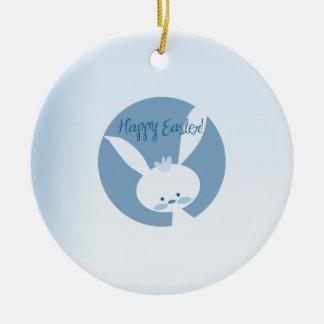 Easter Rabbit Christmas Ornament