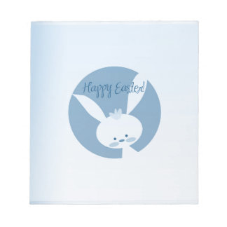 Easter Rabbit Notepad