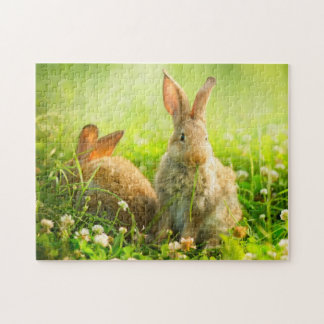 Easter Rabbits Jigsaw Puzzle