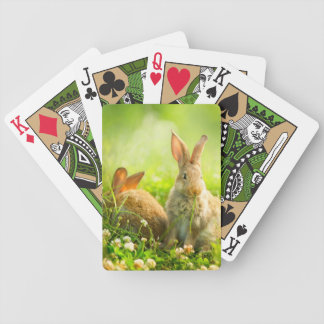 Easter Rabbits Poker Deck