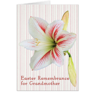 Easter Remembrance Card for Grandmother