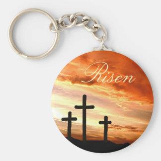 Easter risen key ring