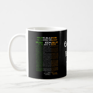 Easter Rising 1916 Irish Republican Proclaimation Coffee Mug