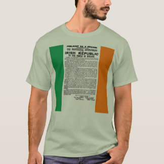 Easter Rising Proclamation of the Irish Republic T-Shirt