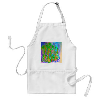 Easter Rose Floral and Colorful Design Products Standard Apron