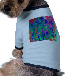 Easter Rose Floral Design Products Doggie Tee Shirt