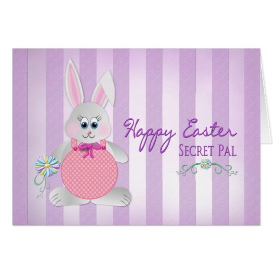 Easter - Secret Pal - Bunny - Purple
