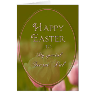 EASTER - SECRET PAL - TULIPS CARD