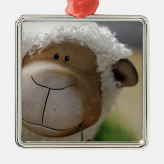 Easter Sheep Christmas Ornament