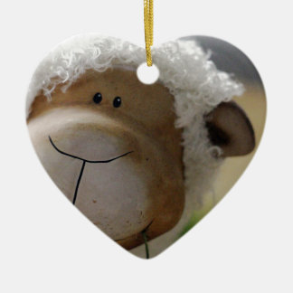 Easter Sheep Christmas Ornament