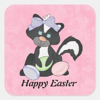 Easter Skunk Sticker