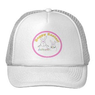 Easter Snowmen Snow Bunnies 'HOPPY EASTER' Hat