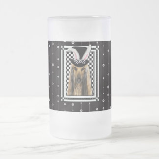 Easter - Some Bunny Loves You - Afghan Frosted Glass Mug