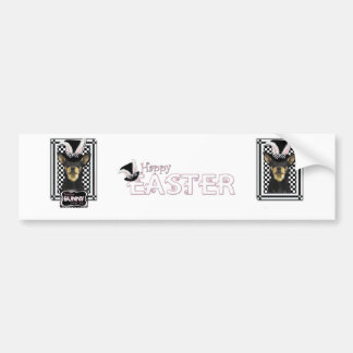 Easter - Some Bunny Loves You - Australian Kelpie Car Bumper Sticker