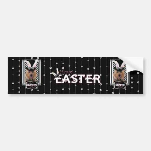 Easter - Some Bunny Loves You - Australian Terrier Bumper Sticker