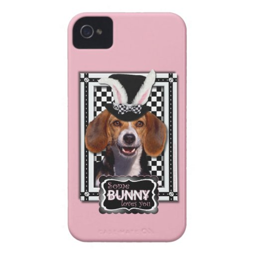 Easter - Some Bunny Loves You - Beagle iPhone 4 Cover