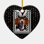 Easter - Some Bunny Loves You - Beagle Christmas Tree Ornament