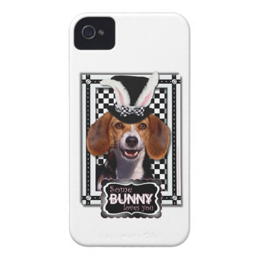 Easter - Some Bunny Loves You - Beagle iPhone 4 Covers