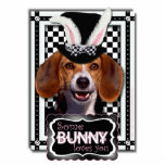 Easter - Some Bunny Loves You - Beagle Photo Cut Outs