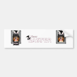 Easter - Some Bunny Loves You - Bernie Car Bumper Sticker