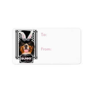 Easter - Some Bunny Loves You - Bernie Address Label