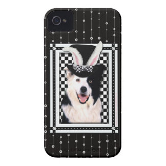 Easter - Some Bunny Loves You - Border Collie iPhone 4 Case-Mate Cases