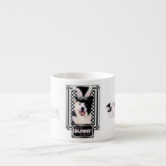 Easter - Some Bunny Loves You - Border Collie Espresso Cup