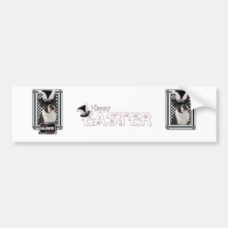Easter - Some Bunny Loves You - Boston Terrier Bumper Sticker