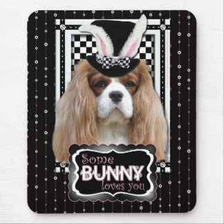 Easter - Some Bunny Loves You - Cavalier Blenheim Mouse Pad