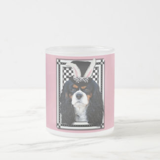 Easter - Some Bunny Loves You - Cavalier TriColor Frosted Glass Mug