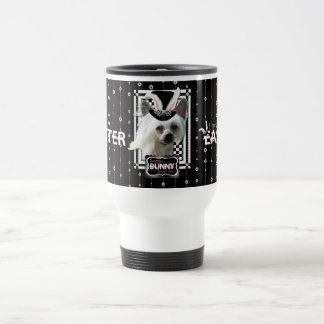 Easter - Some Bunny Loves You - Chinese Crested Stainless Steel Travel Mug