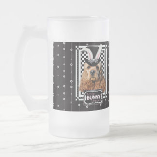 Easter - Some Bunny Loves You - Cocker Spaniel Frosted Glass Mug