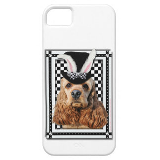 Easter - Some Bunny Loves You - Cocker Spaniel iPhone 5 Case