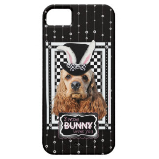 Easter - Some Bunny Loves You - Cocker Spaniel iPhone 5 Covers