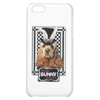 Easter - Some Bunny Loves You - Cocker Spaniel iPhone 5C Cover