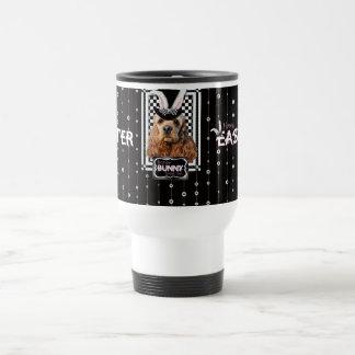 Easter - Some Bunny Loves You - Cocker Spaniel Stainless Steel Travel Mug
