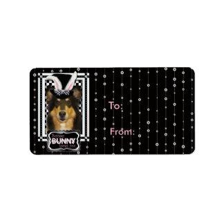 Easter - Some Bunny Loves You - Collie Caroline Address Label